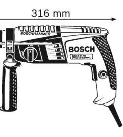 Máy Khoan Búa GBH 2-18 RE 11