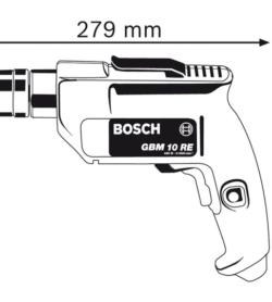 Máy Khoan Bosch GBM 10 RE 5