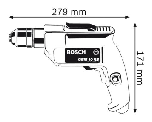 Máy Khoan Bosch GBM 10 RE 2