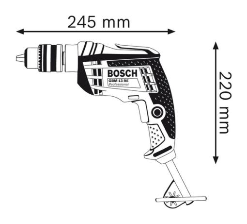 Máy Khoan Bosch GBM 13 RE 2