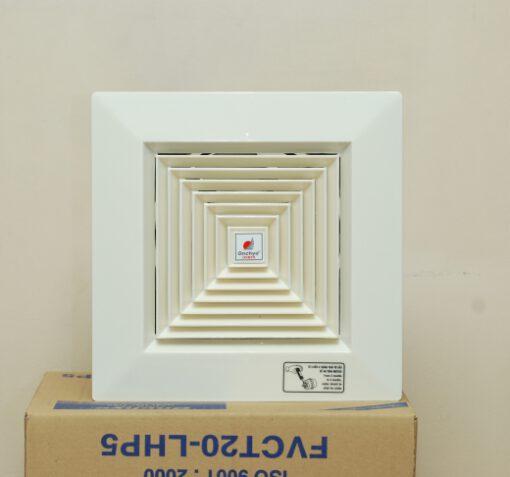 Quạt thông gió gắn trần FVCT15 LHP6 (không có ống gió) 1