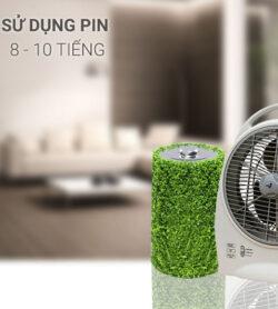 Quạt sạc điện Asia QS1001 9
