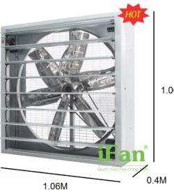 Quạt thông gió gián tiếp IFan 42C 5