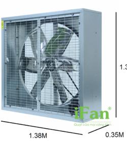 Quạt thông gió gián tiếp IFan 54D 5
