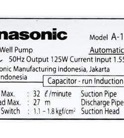 Máy bơm nước tăng áp Panasonic 125W A-130JAK 15
