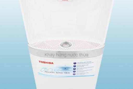 Máy lọc nước NÓNG - LẠNH RO Toshiba TWP-W1643SV - 4 lõi 7