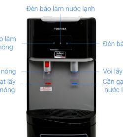 Máy nước nóng lạnh Toshiba RWF-W1669BV - ĐEN 14