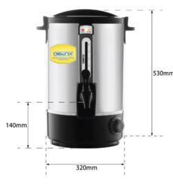 Bình đun nước nóng tự động BE-25L-T 3