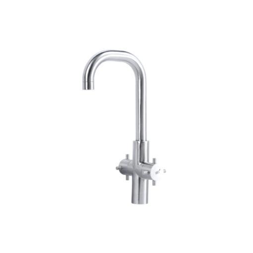 WS-0152 - Vòi chậu nóng lạnh - INOX SUS 304 3