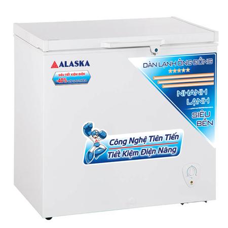 Tủ Đông Alaska BD-400C ĐỒNG (R600A)400/295 LÍT 1