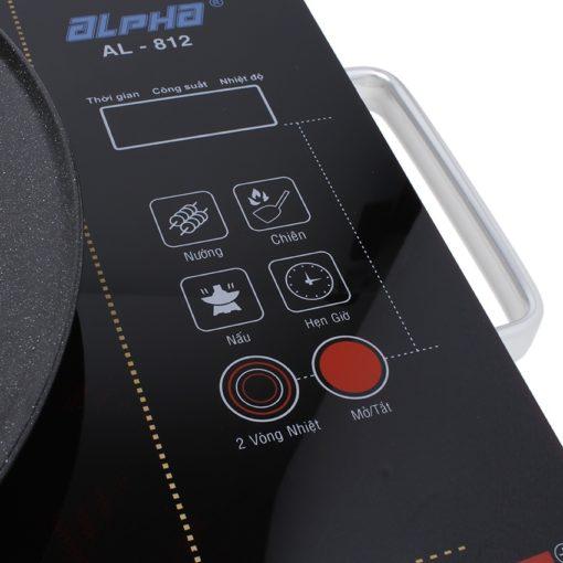 Bếp Điện Hồng Ngoại Alpha AL-812 2