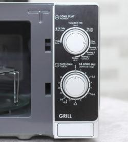 Lò vi sóng cơ có nướng SHARP R-G223VN-S 20 Lít 15