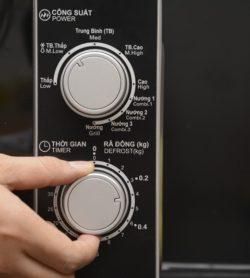 Lò vi sóng cơ có nướng SHARP R-G222VN-S 20 Lít 19