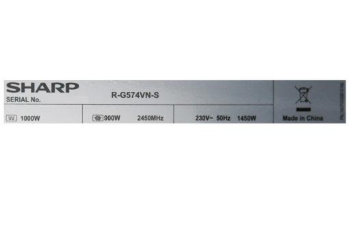 Lò vi sóng Sharp R-G574VN-S 25 lít 10