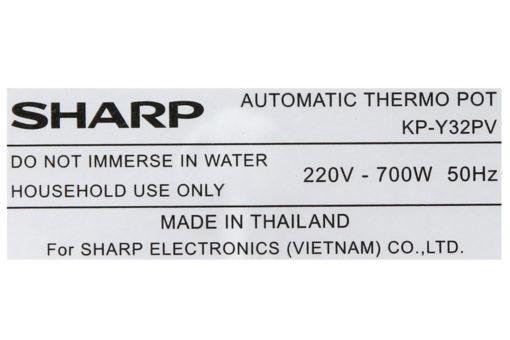 Bình thủy điện Sharp KP-Y32PV-CU 3 lít 13