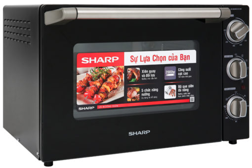 Lò nướng Sharp EO-B46RCSV-BK 46 lít 3