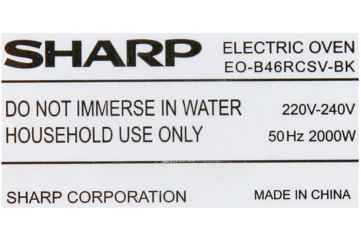 Lò nướng Sharp EO-B46RCSV-BK 46 lít 10