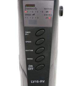 Quạt đứng Mitsubishi LV16-RV( xám trắng,xanh,đỏ,xám đậm) – Có Remote 10